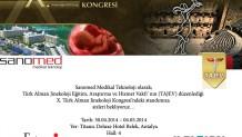 X. Türk Alman Jinekoloji Kongresi'ndeyiz…