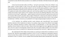 Fotona'nın jinekolojik lazerlerle ilgili açıklaması